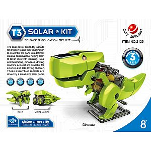 Solarni set DINOZAVER 3v1