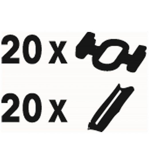 SPONKE IN SPOJKE ZA TIRE (20+20)