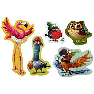 PUZZLE 5 v 1 ptice - 59164