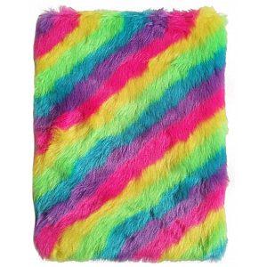 Dnevnik Plišasti Rainbow Vivid - 26213