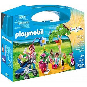 PLAYMOBIL SUITCASES družinski piknik 9103