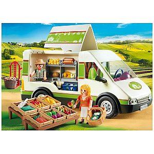 PLAYMOBIL COUNTRY prenosna kmečka tržnica 70134