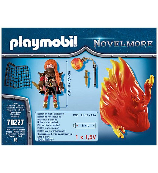 PLAYMOBIL NOVELMORE duh ognja 70227