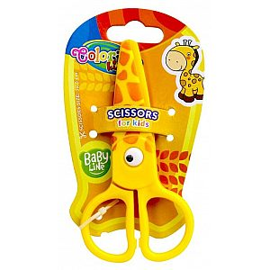 Škarje Colorino Kids Živali - 37275PTR