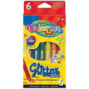Flomastri Colorino Glitter - 65641PTR