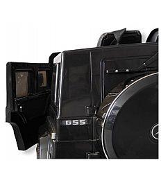 12V MERCEDES G55 AMG  - avto na akumulator z daljincem črno-zlat