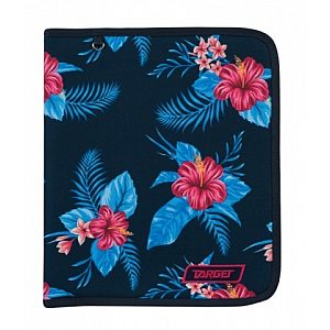 Mapa A4 Clip Folder Floral Blue 21931