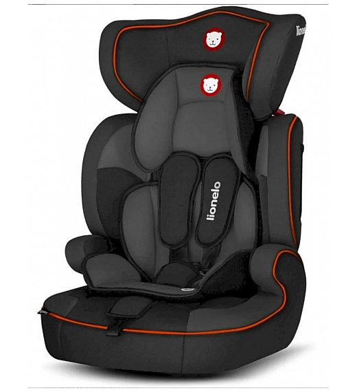 Avtosedež Lionelo Levi One Sporty Black 1/2/3
