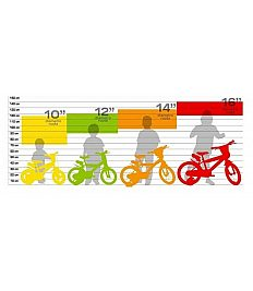 Otroško kolo 12'' Dino Bikes BARBIE