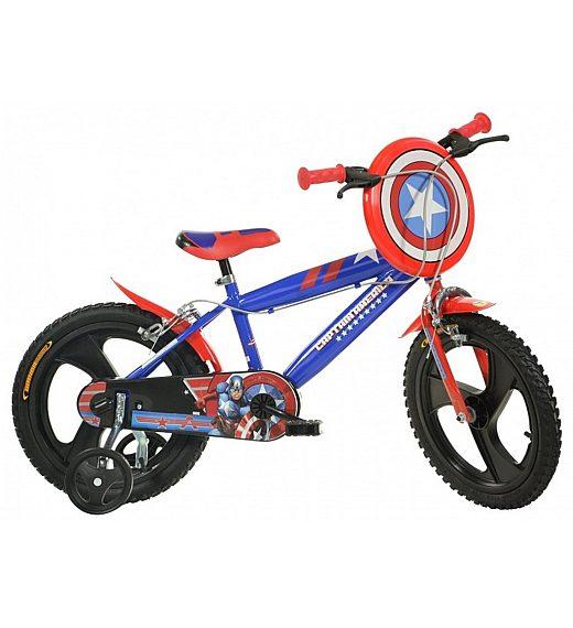"OTROŠKO KOLO 14"" DINO BIKES Captain America"