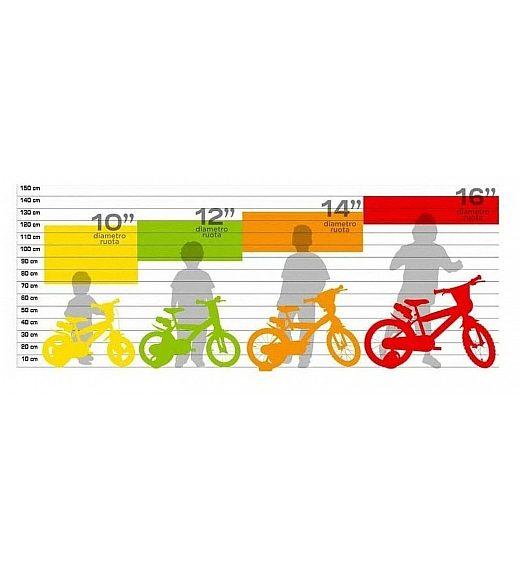 Otroško kolo 16 Dino Bikes FROZEN II