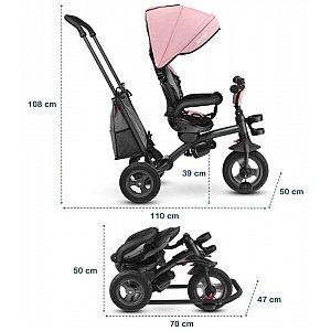 Tricikel Tris Rose 2 v 1
