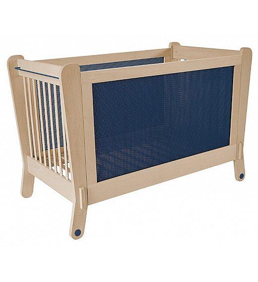 Lesena postelja Albero Bambino LETTINO Blue