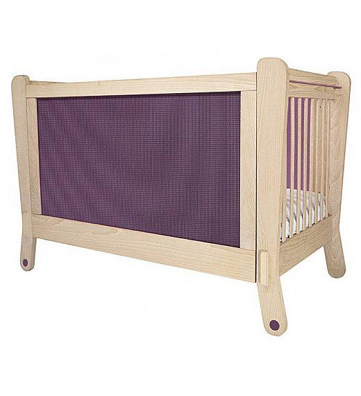 Lesena postelja Albero Bambino LETTINO Prugna