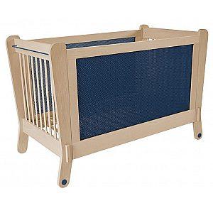 LETTINO ELECTROMAGNETIC BLUE Albero Bambino - Lesena postelja