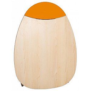 Previjalna miza Timkid OWO 2.0 top yellow