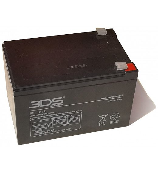 12V nadomestni akumulator 12Ah