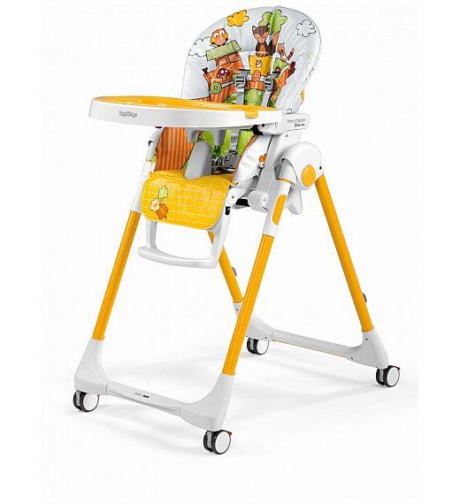 Peg Perego PRIMA PAPPA Follow me Fox&Friends - stolček za hranjenje