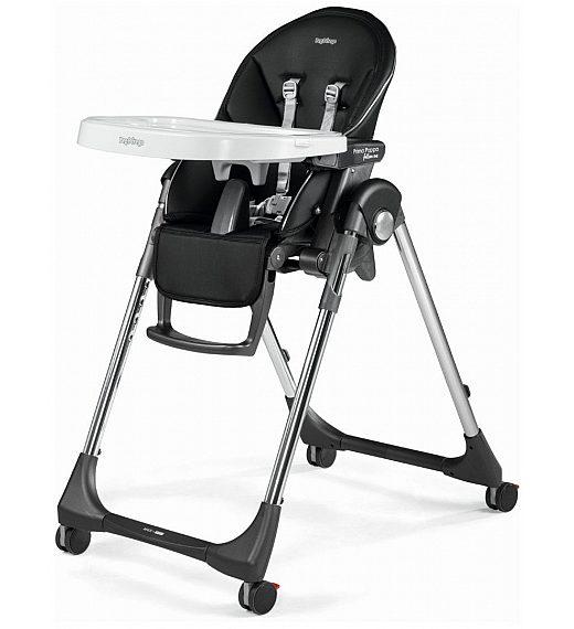 Peg Perego PRIMA PAPPA Follow me Hi-Tech Licorice - stolček za hranjenje