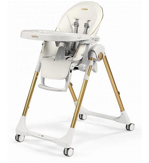Peg Perego PRIMA PAPPA Follow me Gold - stolček za hranjenje