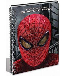 Zvezek A4 Spiderman spiralni na črte