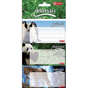 Šolske nalepke Target Animal