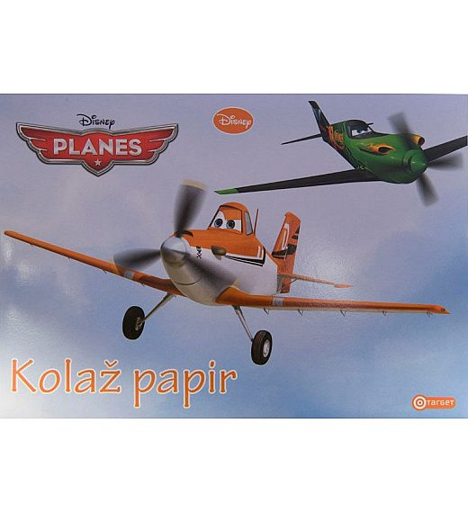 Kolaž papir A4 Planes