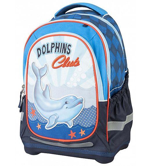 Šolska torba - šolski nahrbtnik Superlight DELFIN 17309