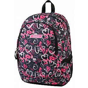 3ZIP ALLOVER 21441 - šolski nahrbtnik, šolska torba