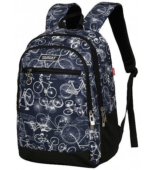 Target CHILI Bicycle Blue 21906 - Šolski nahrbtnik