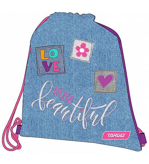 Torba - vrečka za copate Hello Beautiful 26277