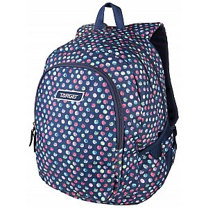 Target 3ZIP Confetti Jeans 26294 - šolski nahrbtnik, šolska torba