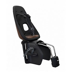YEPP NEXXT Maxi Frame Mount Chocolate Brown - otroški sedež za kolo