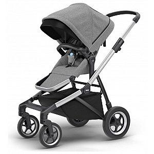 Thule SLEEK Grey Melange - otroški voziček