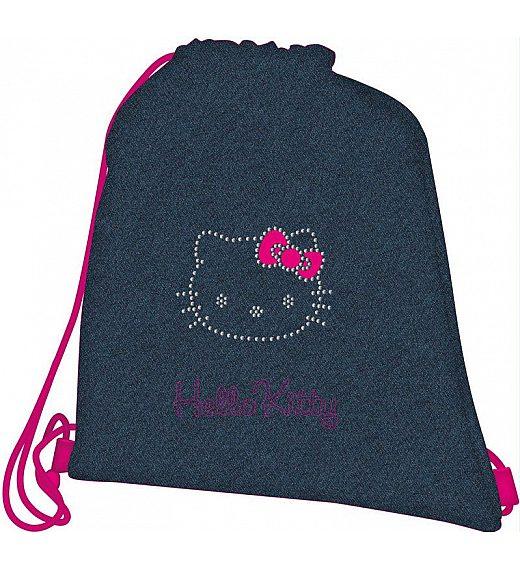 Torba - vrečka za copate Hello Kitty Jeans - 17464