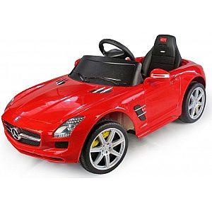 6V baterijski avto z daljincem Mercedes SLS rdeče barve