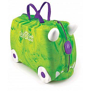 Trunki dinozaver REX - potovalni kovček