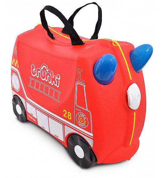 Trunki  Fireman FRANK (gasilec) - potovalni kovček