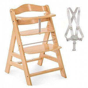 Lesen stolček za hranjenje  ALPHA PLUS  Natur