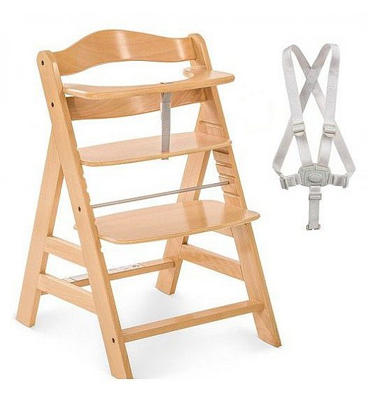 Lesen stolček za hranjenje Hauck ALPHA PLUS  Natur