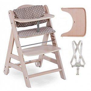 Lesen stolček za hranjenje  BETA Plus Whitewashed