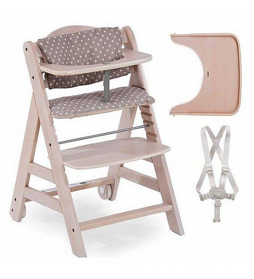 Lesen stolček za hranjenje Hauck BETA Plus Whitewashed