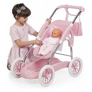 Voziček za punčke Combi Inglesina 3 v 1 roza