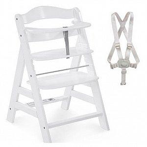 Lesen stolček za hranjenje  ALPHA PLUS White