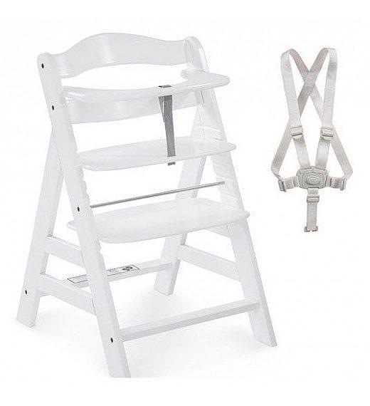 Lesen stolček za hranjenje Hauck ALPHA PLUS White