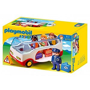 Playmobil 1.2.3. LETALIŠKI AVTOBUS 6773