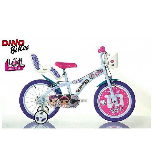 Otroško kolo 16 Dino Bikes LOL Surprise