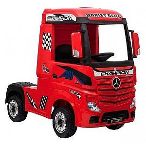 12V Mercedes ACTROS Red Babycar - vozilo na akumulator z daljincem