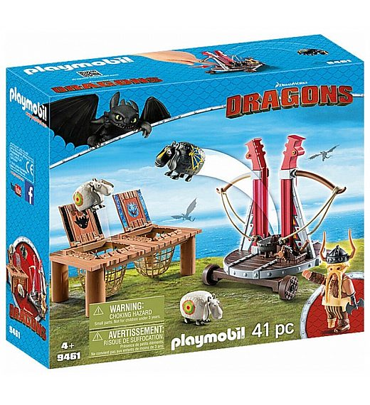 Playmobil Katapult za ovce 9461