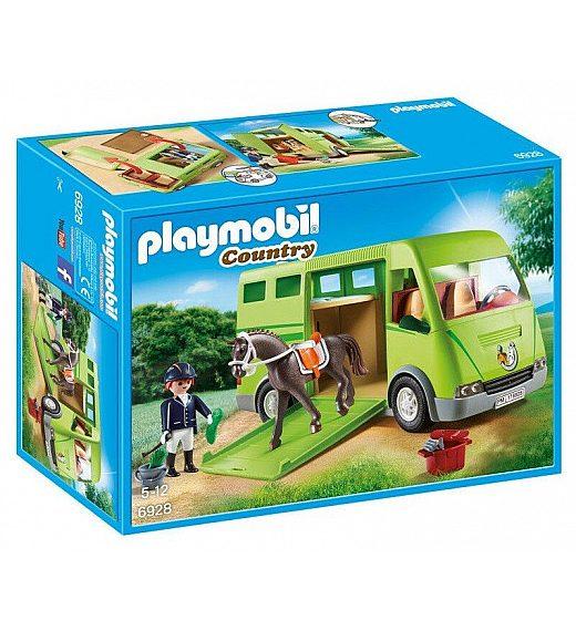 Playmobil Prevoznik konjev 6928